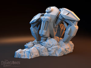 Sci-Fi Scatter - Mineral Extractor