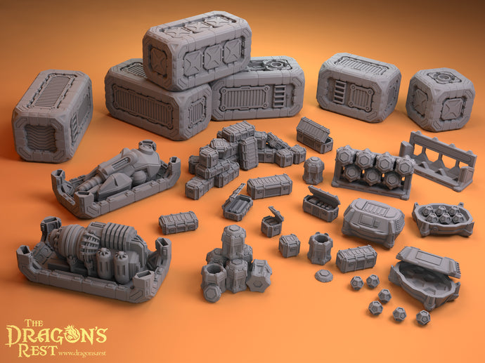 Sci-Fi Scatter - Containers