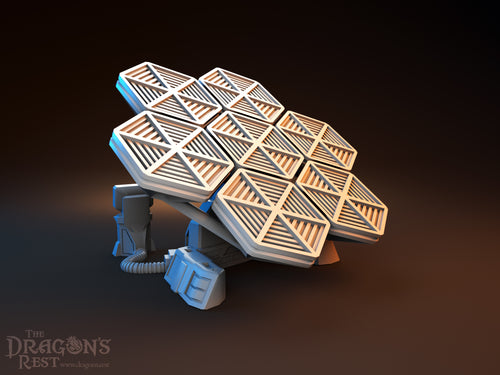 Sci-Fi Scatter - Solar Array