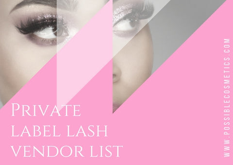 Eyelash Vendor list