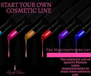 The Private Label Cosmetics Manufacturers list