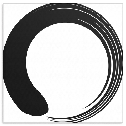 Enso - Canvas Art - Lion Heart Living