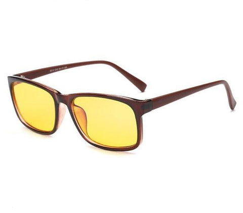 Anti-Blue Light Glasses - Yellow Tint - Wide Eye Frame - Lion Heart Living