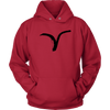 Image of Aries Zodiac Hoodie - Men - Lion Heart Living