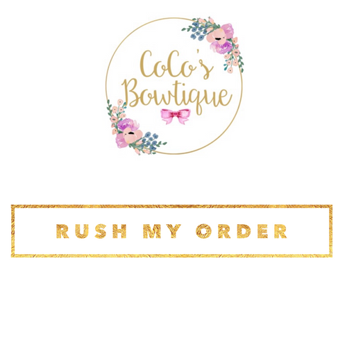 Rush My Order- PLEASE READ- Only to be purchased with priority shipping!
