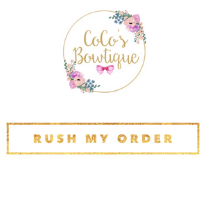 Rush My Order- PLEASE READ!