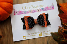 Spooky Webs - Halloween-Inspired Double Bow- 3 sizes