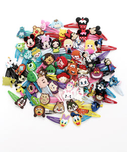 Character Clips- Disney-Inspired Snap Clips