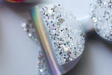 Love- Friendship Bows- Holographic/Glitter Double Bow- 3 sizes