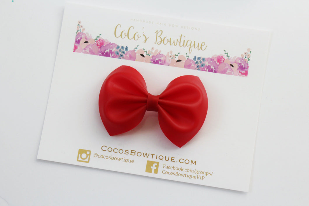 Red- Jelly/Pool bows- Various Sizes