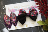 Flores Muertes- Bella-style Bow- 2 sizes