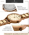 Whiskey Marble Edition-Oliver Redmont Timepieces