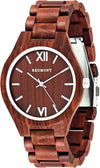 Oliver Redmont Holzuhr Red Edition