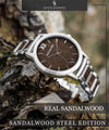 Sandalwood Steel Edition-Oliver Redmont Timepieces