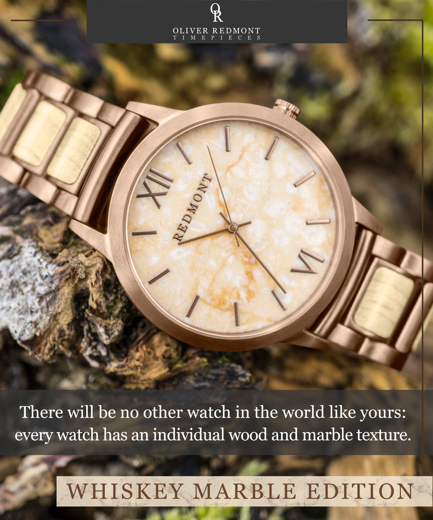 watches made grain the wood w whiskey pin barrel handcrafted by original kickstarter watch