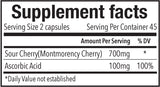 Cherry C800 Supplement Facts