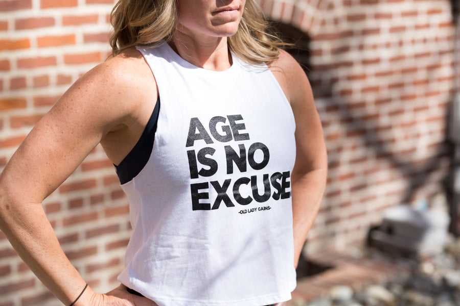 No Excuses Crop Tank