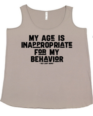 Age is Inappropriate Athena Tank