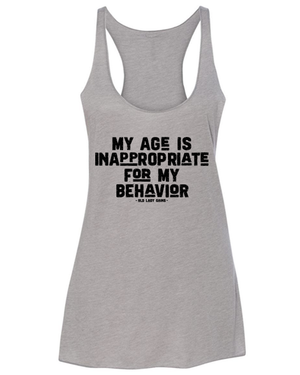 Age is Inappropriate Tank