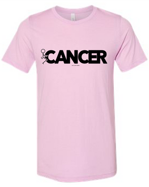 Screw Cancer Tee - Pink