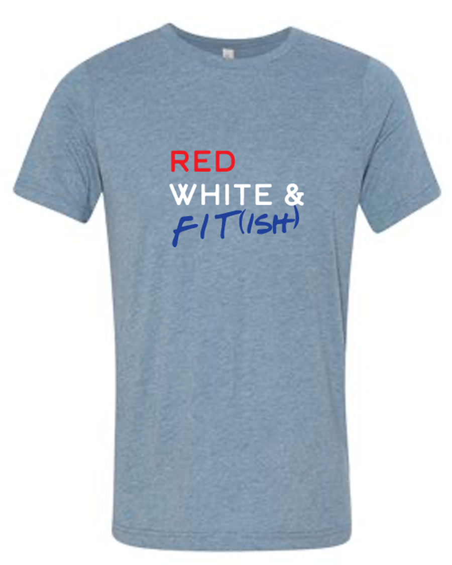 Red White & Fit-ish Tee