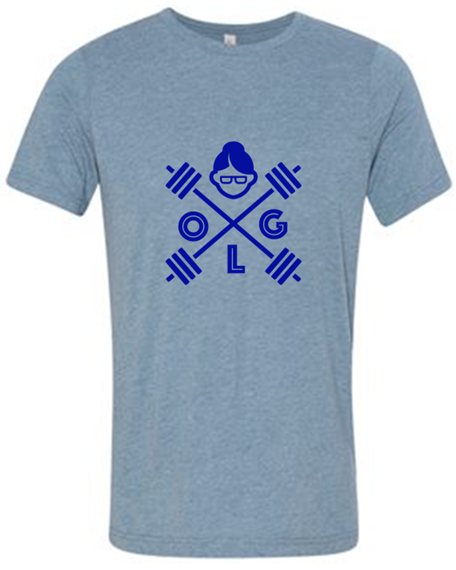 OLG Basic Tee- Blue