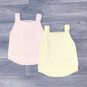 Wedoble BABY | Raised Dot Knitted Dungaree Romper | Millie and John