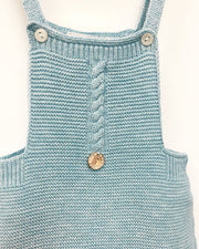 "Paloma de la O ""Addison"" Turquoise Knitted Dungarees 