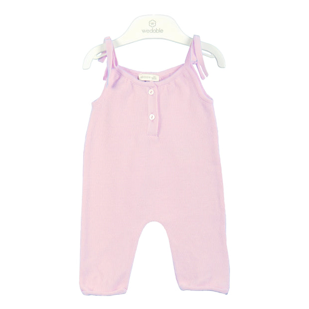 Wedoble Baby Pink Jumpsuit | Millie and John