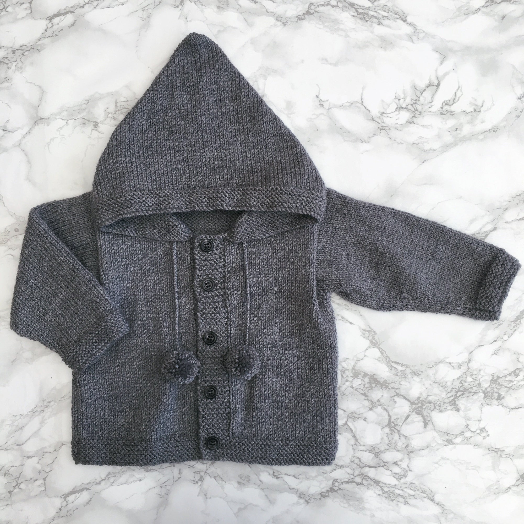 Millie and John Bespoke Bespoke Dark Grey Hoodie | Millie and John