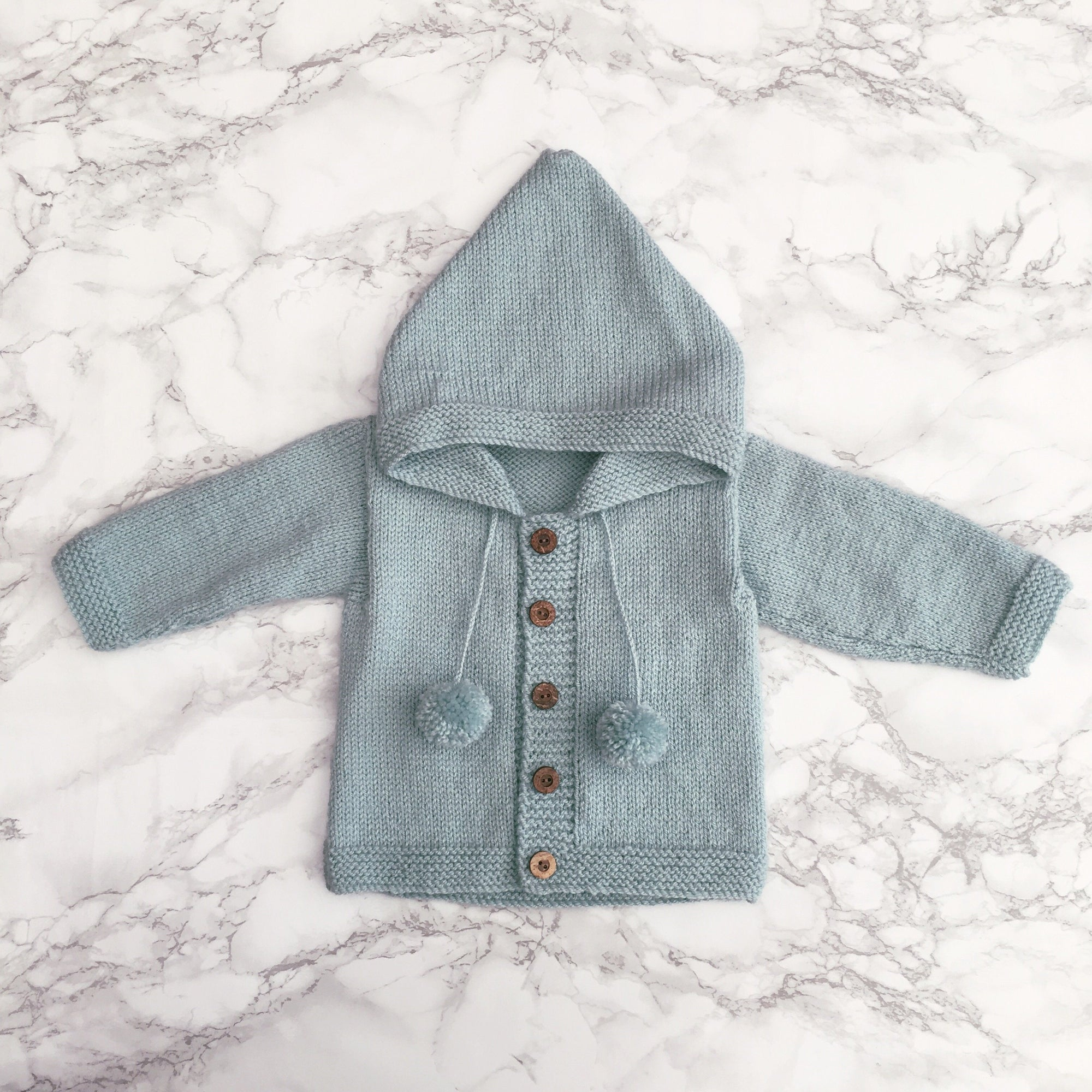 Millie and John Bespoke Bespoke Duck Egg Hoodie | Millie and John