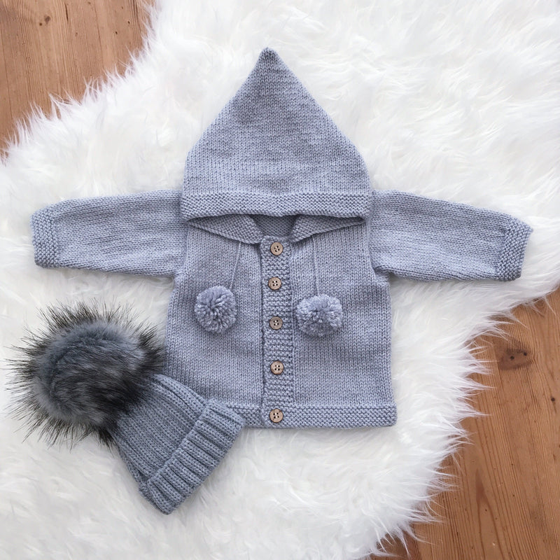 Millie and John Bespoke Bespoke Grey Hoodie | Millie and John