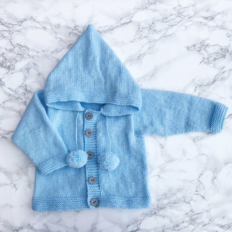 Millie and John Bespoke Bespoke Light Blue Hoodie | Millie and John