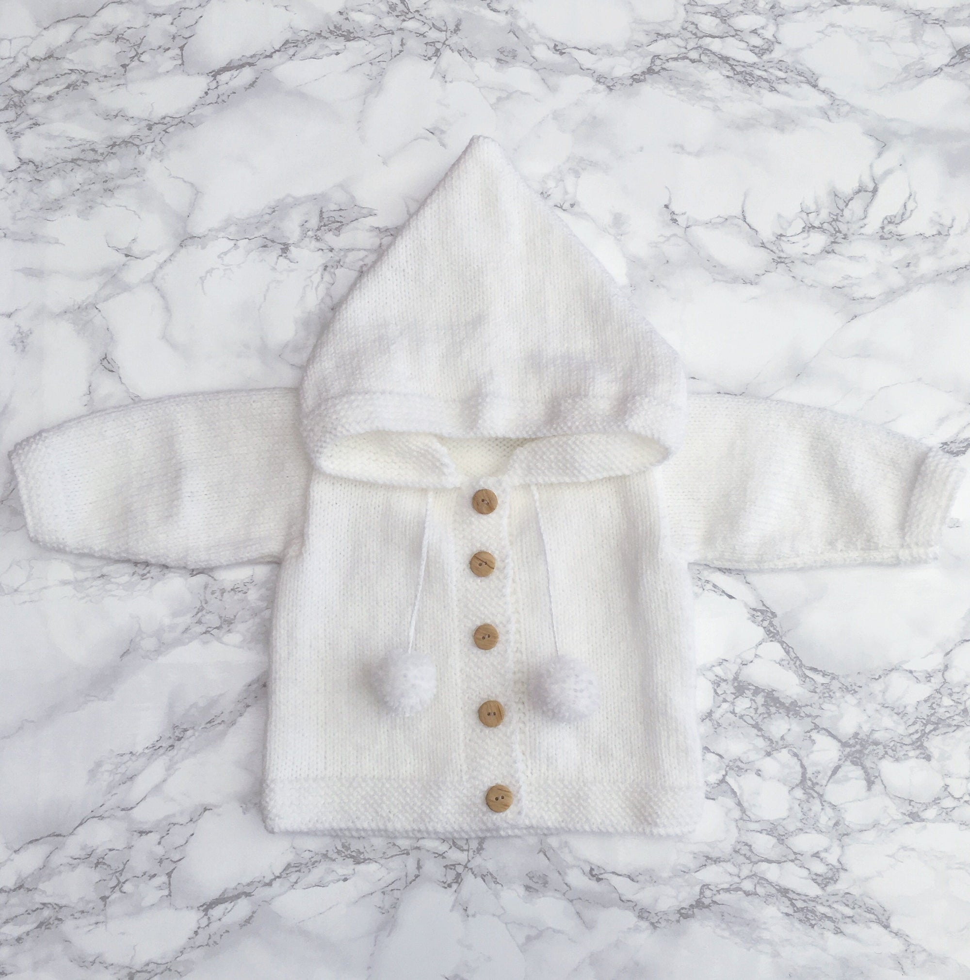Millie and John Bespoke Bespoke White Hoodie | Millie and John