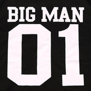 Millie and John Big Man Little Man Matching T-Shirts | Millie and John