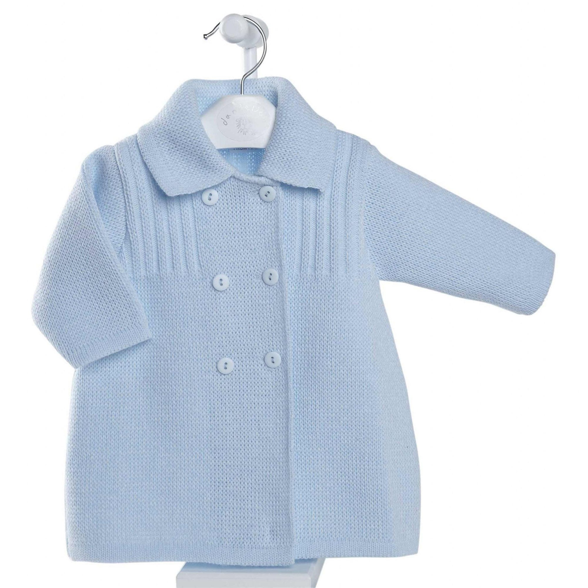 Dandelion Blue Knitted Jacket | Millie and John