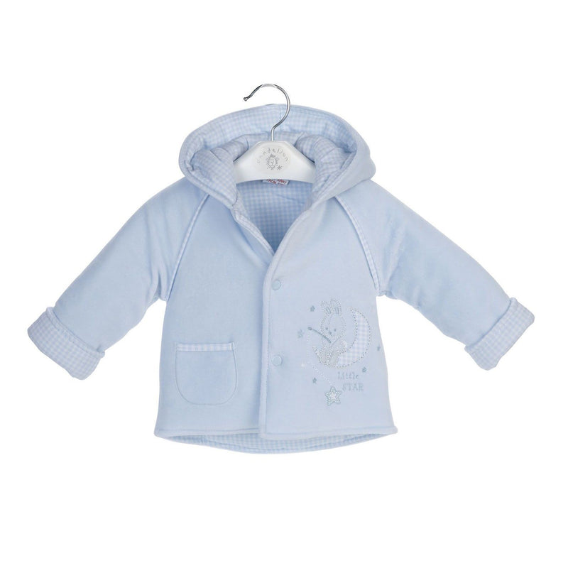 "Dandelion Blue ""Little Star"" Velour Jacket 