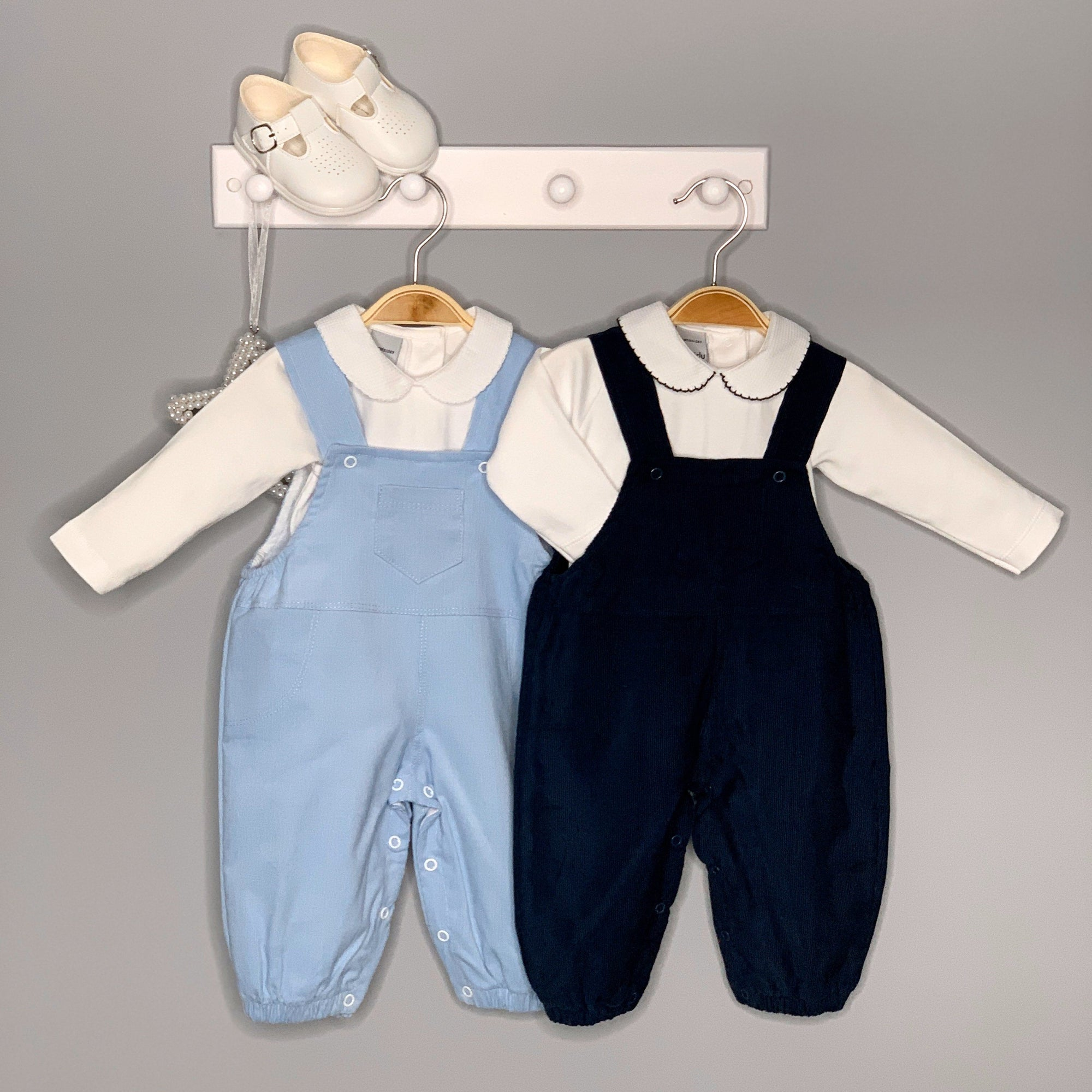 Little Nosh Cord Dungarees | Millie and John