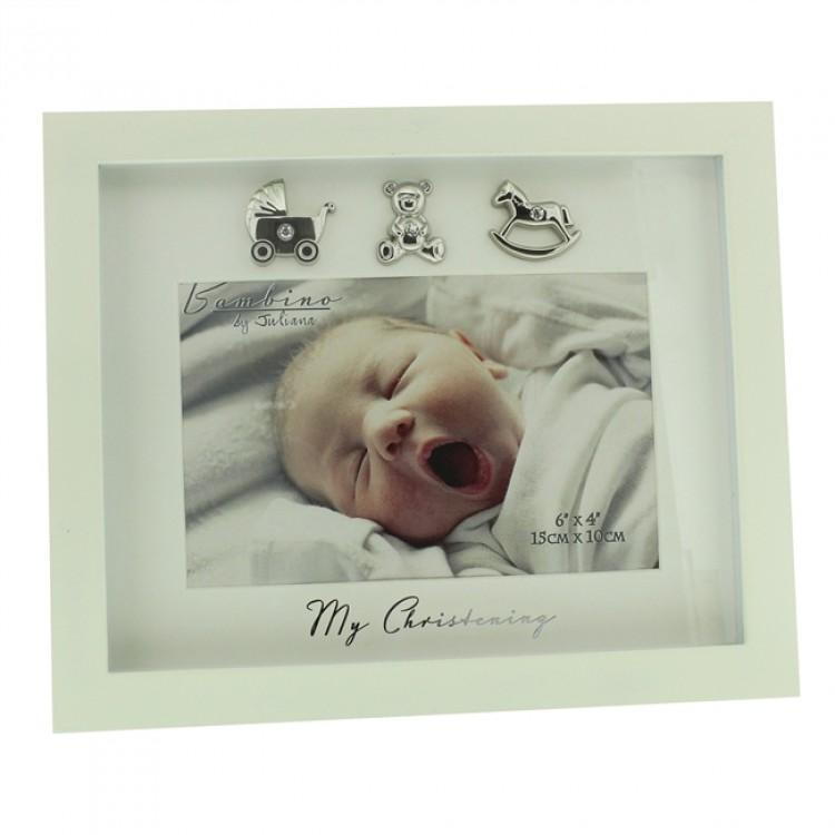 "Bambino Cream ""My Christening"" Photo Frame 