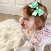 Carvalho Smith x Millie and John Exclusive Pastel Satin Bows | Millie and John