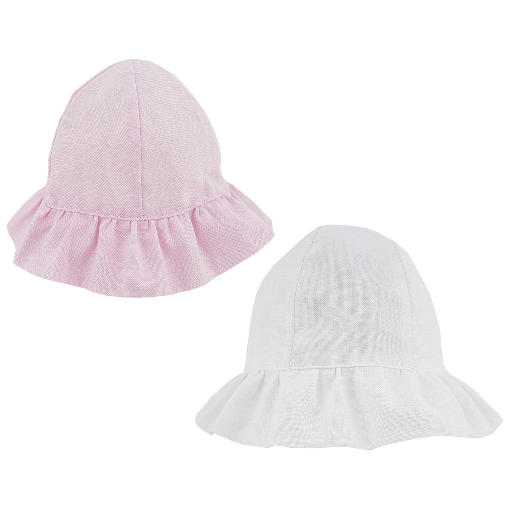 Pesci Baby Frilled Sun Hat | Millie and John