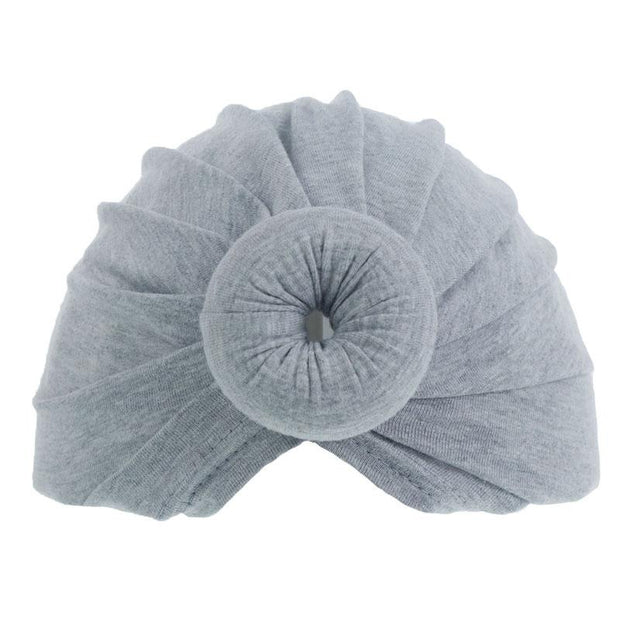 Soft Touch Grey Donut Hat | Millie and John