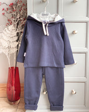 Babidu Knit Hooded Tracksuit | Millie and John