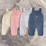 Granlei Knitted Dungarees | Millie and John