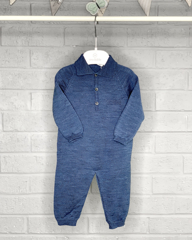 Wedoble Knitted Polo Shirt Romper | Millie and John