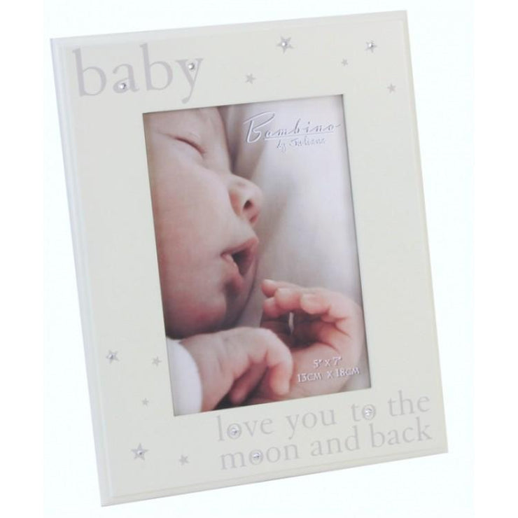 "Bambino ""Love You to the Moon and Back"" Photo Frame 