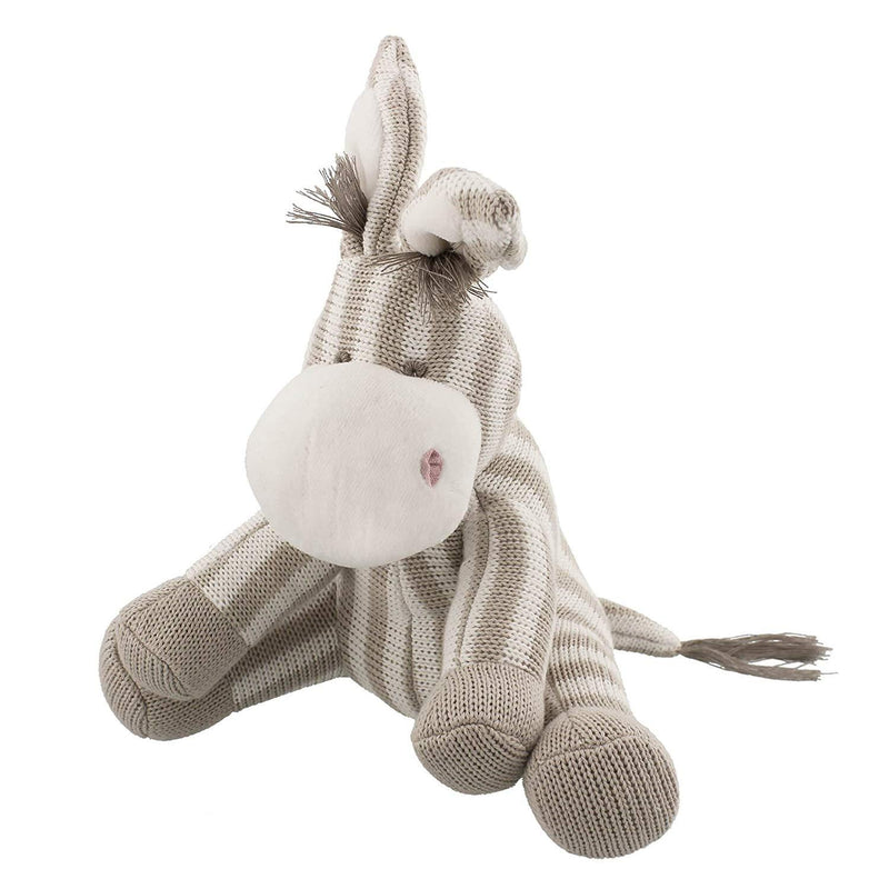 Bambino Neutral Donkey Knitted Toy | Millie and John