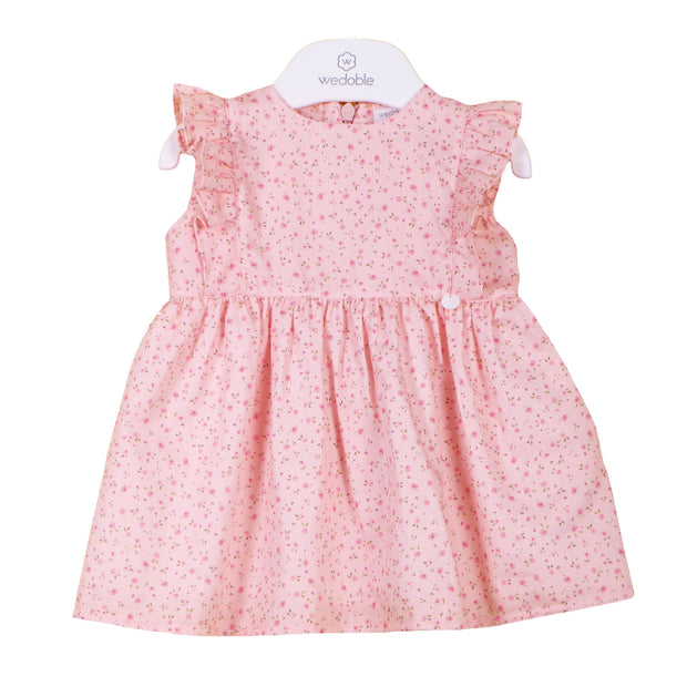 Wedoble Peach Ditsy Floral Dress | Millie and John