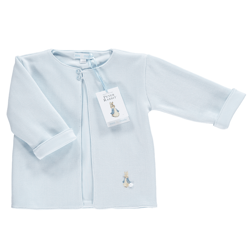 Mini-la-Mode Peter Rabbit Blue Knit Jacket | Millie and John