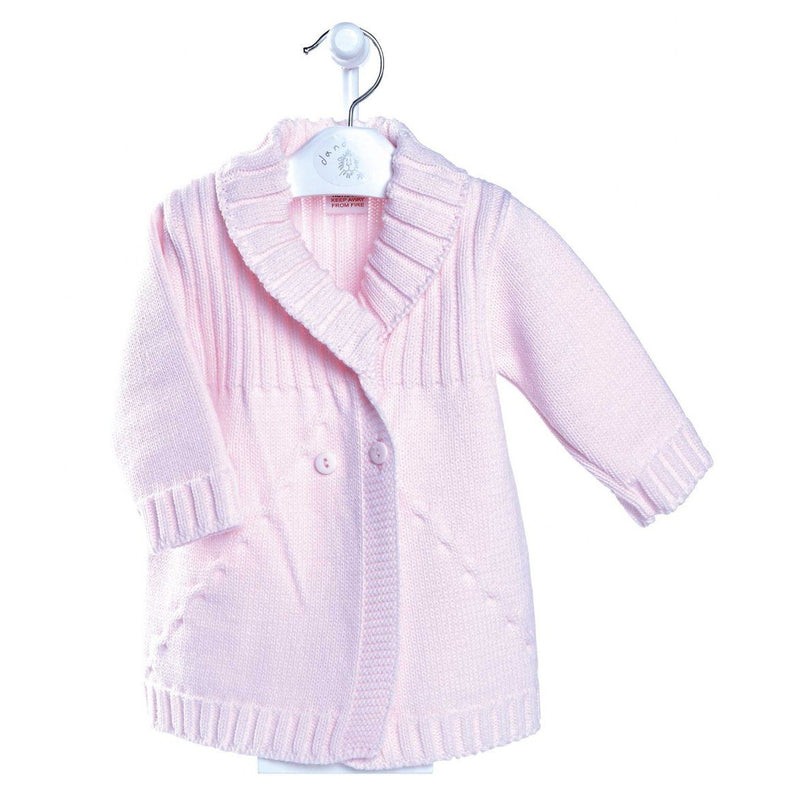 Dandelion Pink Knitted Jacket | Millie and John